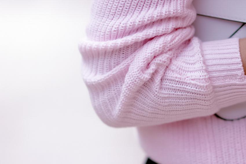 pink pull doudou rose bonbon