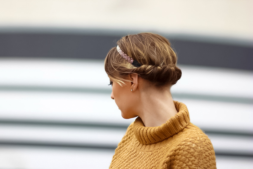 jolie coiffure headband