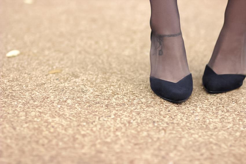 jolis escarpins noirs