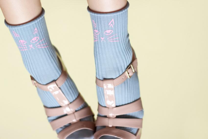 Blog DIY chaussettes tête de chat Artlex 2