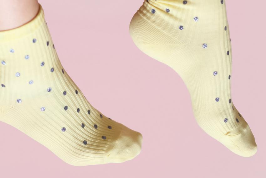 DIY chaussettes à paillettes