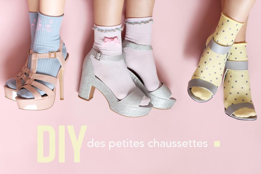 DIY chaussettes blog mode DIY Lyon Artlex