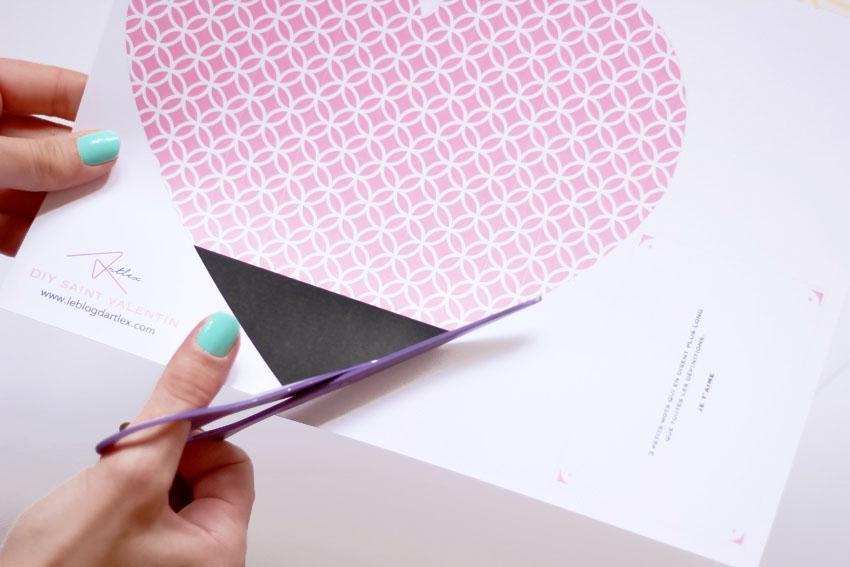 DIY enveloppe coeur saint valentin blog mode lyon DIY Artlex