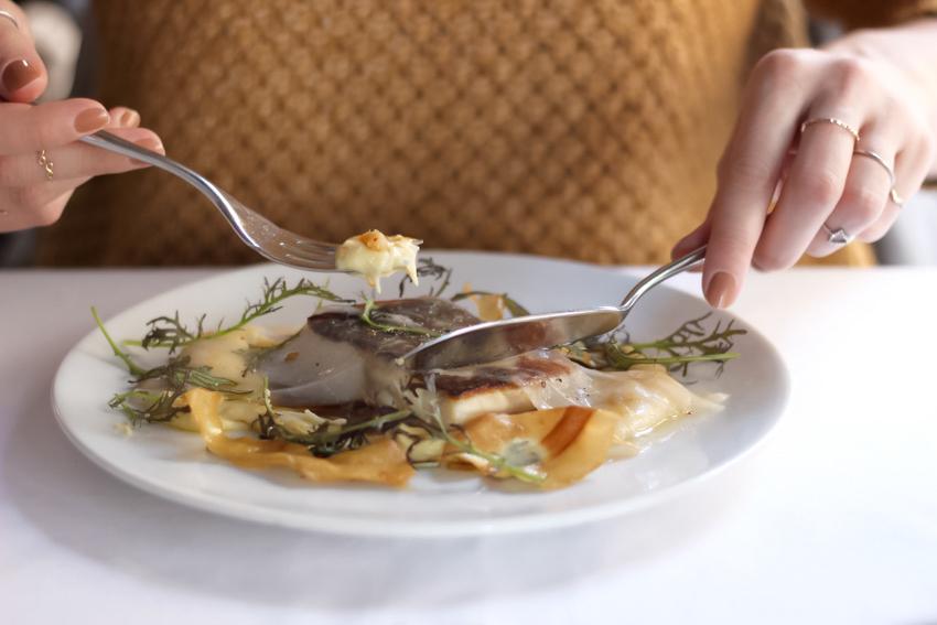 bon restaurant Lyon presqu'ile Potager des Halles