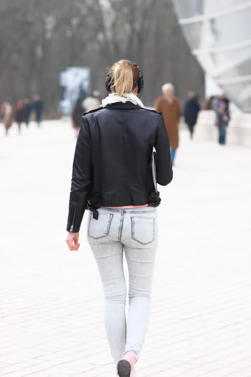 Jean neige Zara Blog mode Lyon Artlex