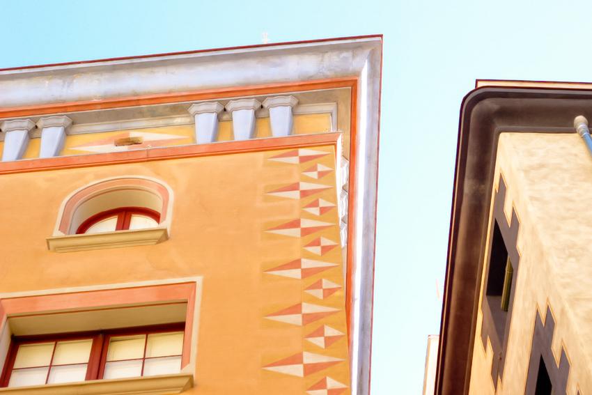 Jolie facade Barcelone