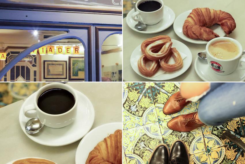 Ou petit déjeuner à Barcelone