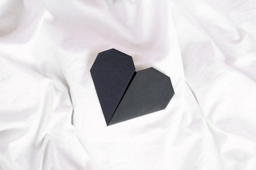 pliage coeur origami blog DIY lyon