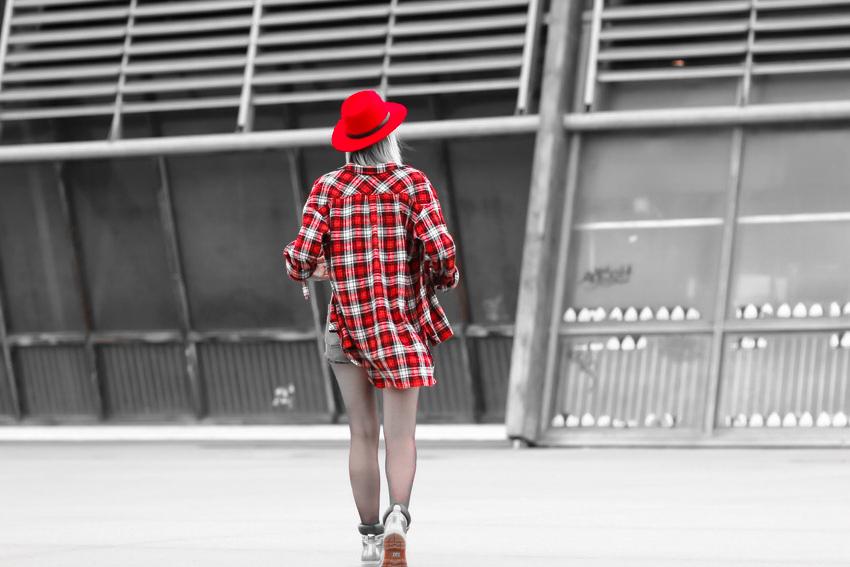 Longue chemise a carreaux Joseph blog mode Lyon Artlex