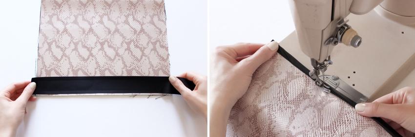 fabriquer une pochette en cuir Blog DIY Artlex