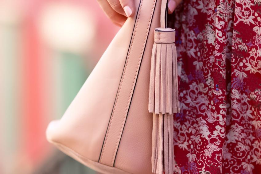 sac cuir rose zara Blog mode Lyon Artlex