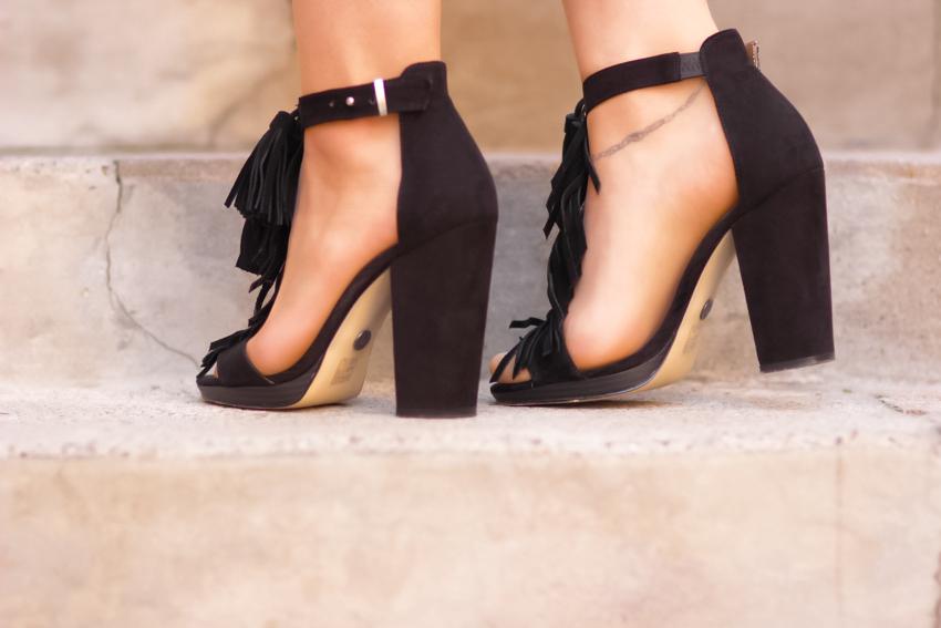 sandales à franges Blog mode Lyon Artlex