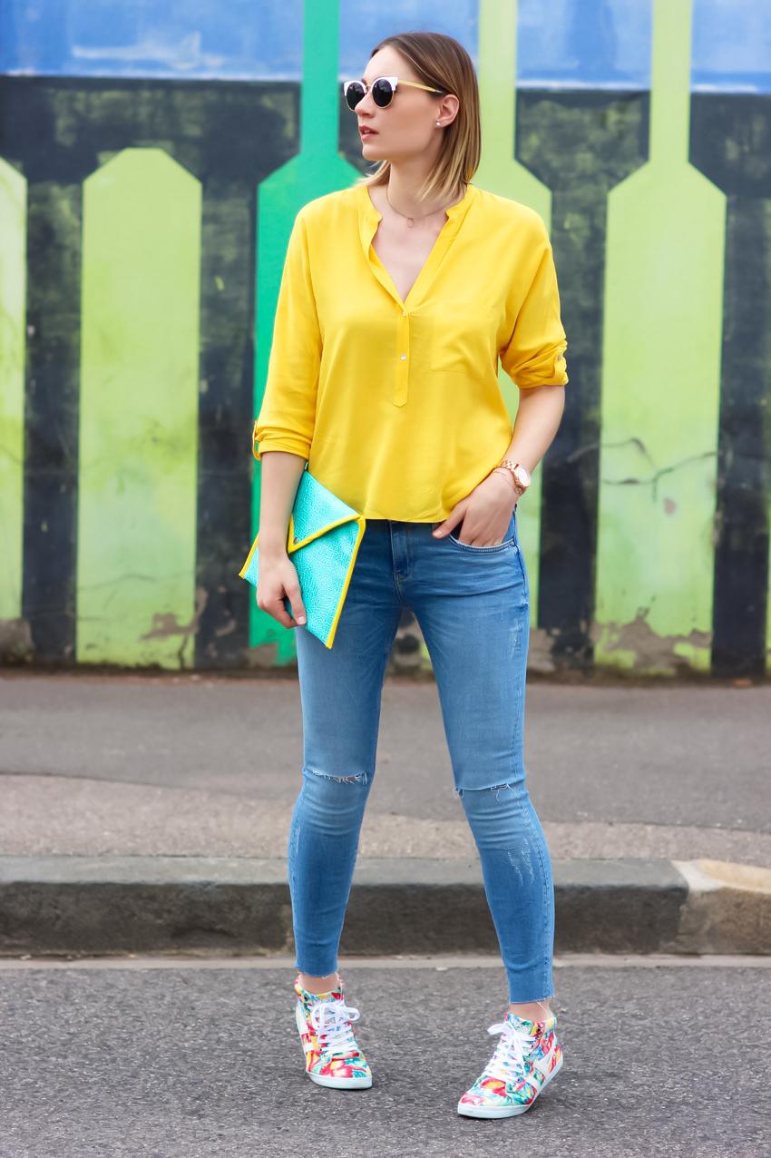 street look jaune blog mode Lyon Artlex