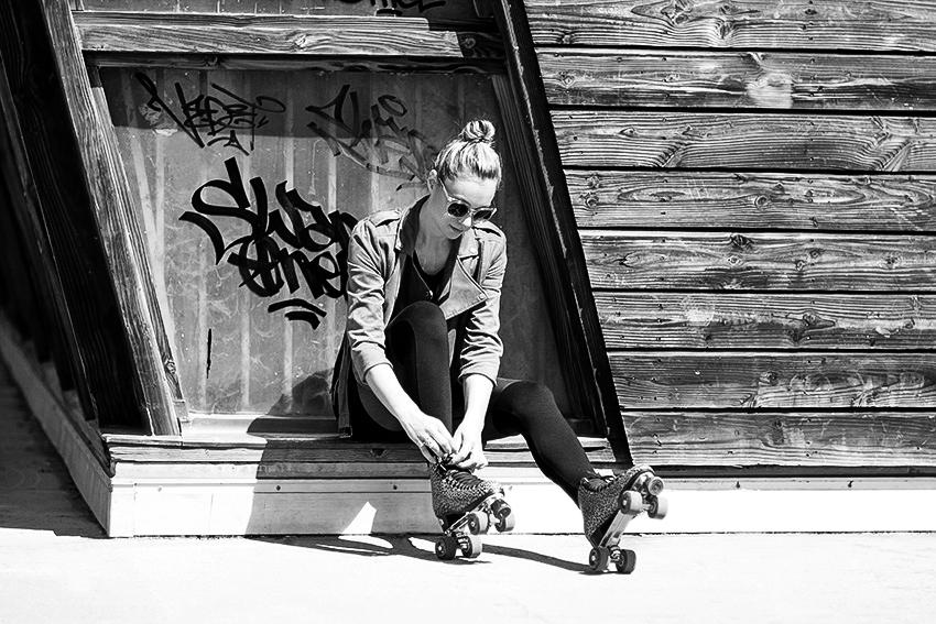 Street style Roller Artlex blogueuse lyonnaise