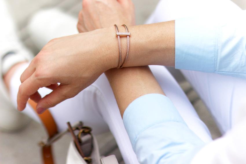 bracelet fossil jewellery