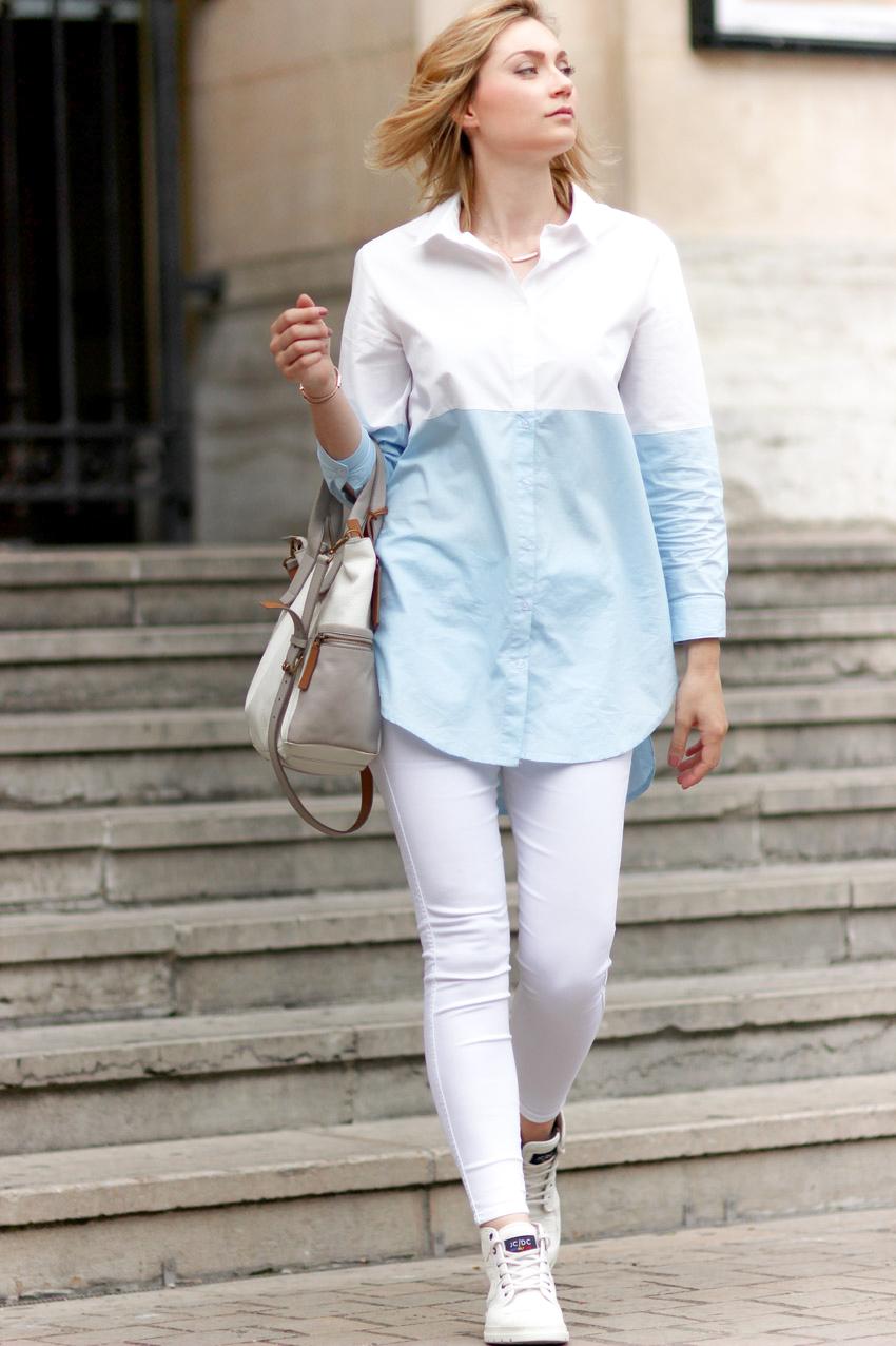 look chemise longue blog mode Lyon Artlex