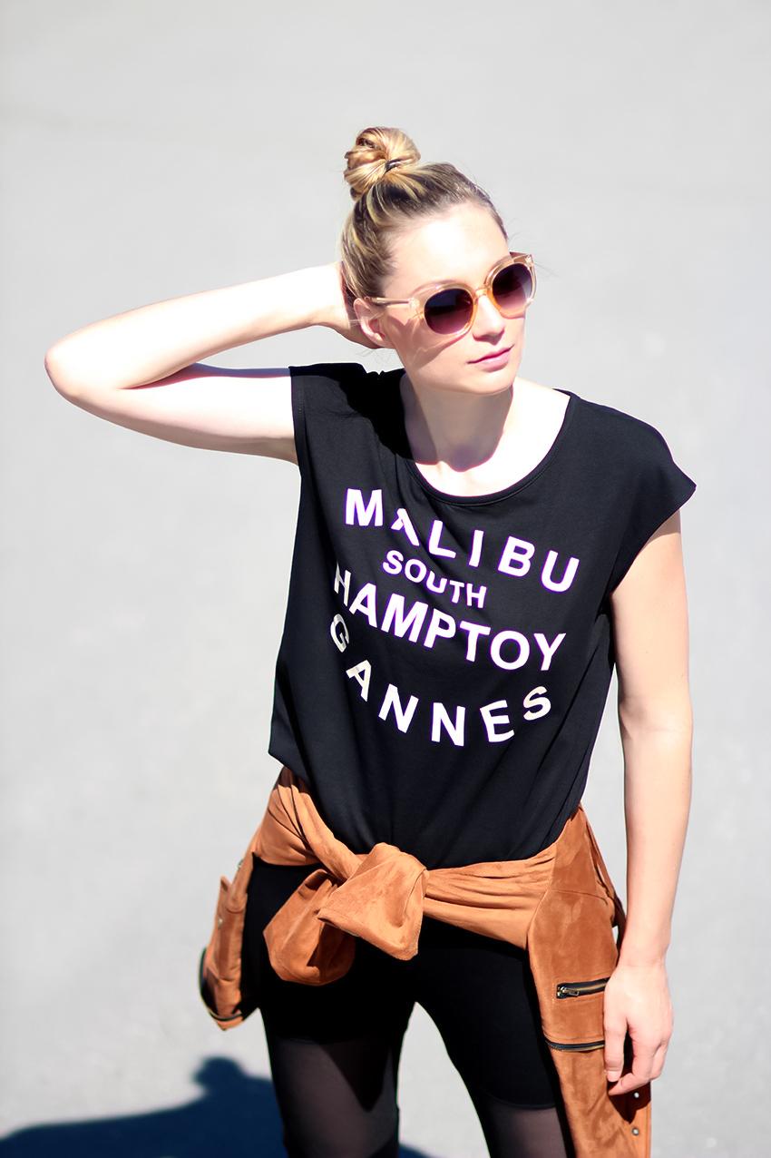 tee-shirt ecriture Blog mode Lyon Artlex
