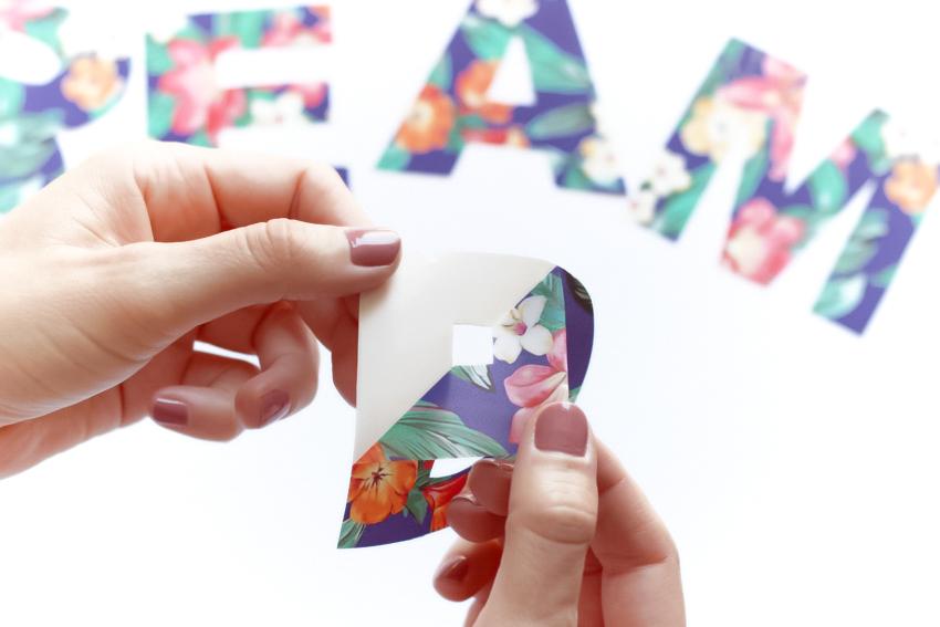utiliser du papier transfert blog DIY Artlex