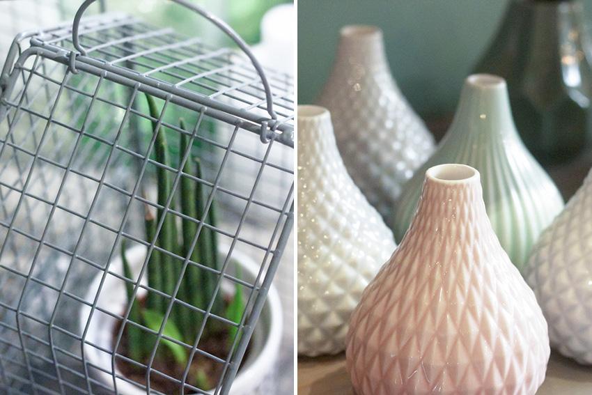 vase porcelaine et cactus Babel Concept Store Paris