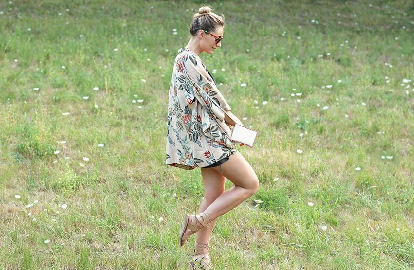 blogueuse mode lyon look kimono