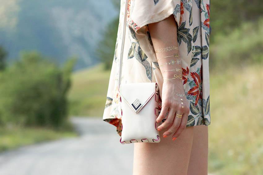 mini sac cuir blanc blog mode lyon Artlex