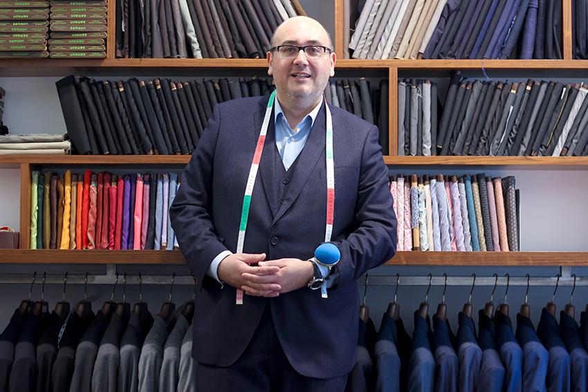 boutique homme sur mesure lyon