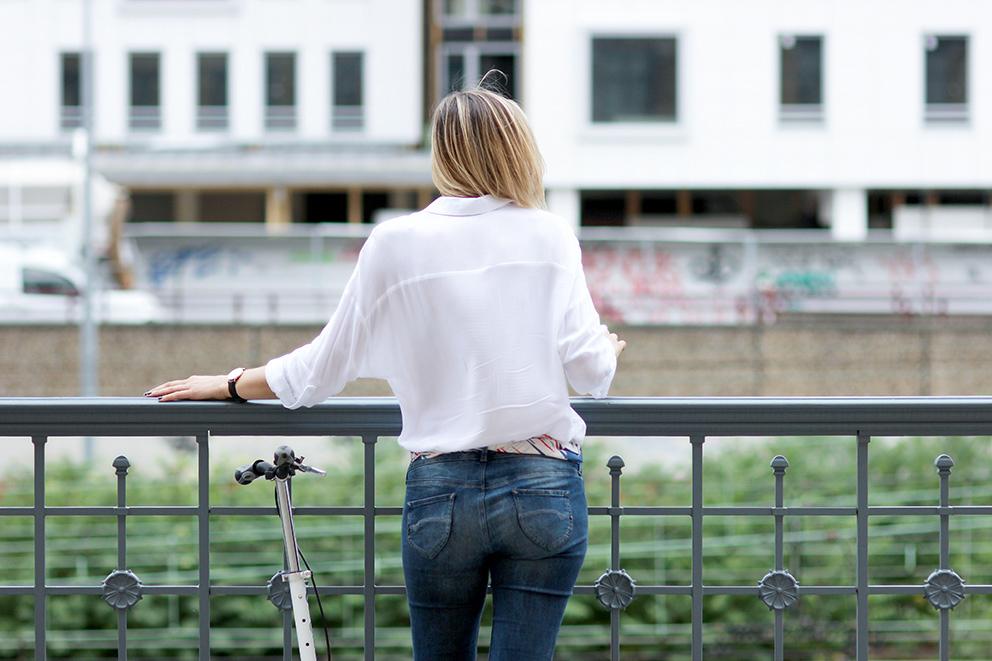 chemise blanche ample blog mode lyon Artlex
