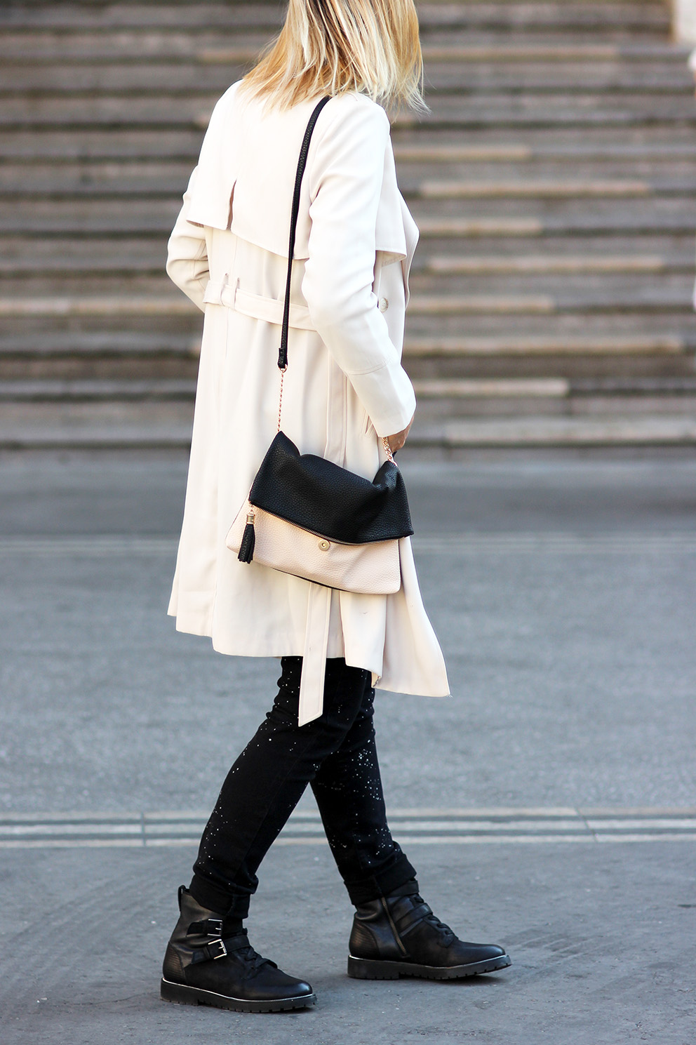 joli trench beige blog mode lyon Artlex