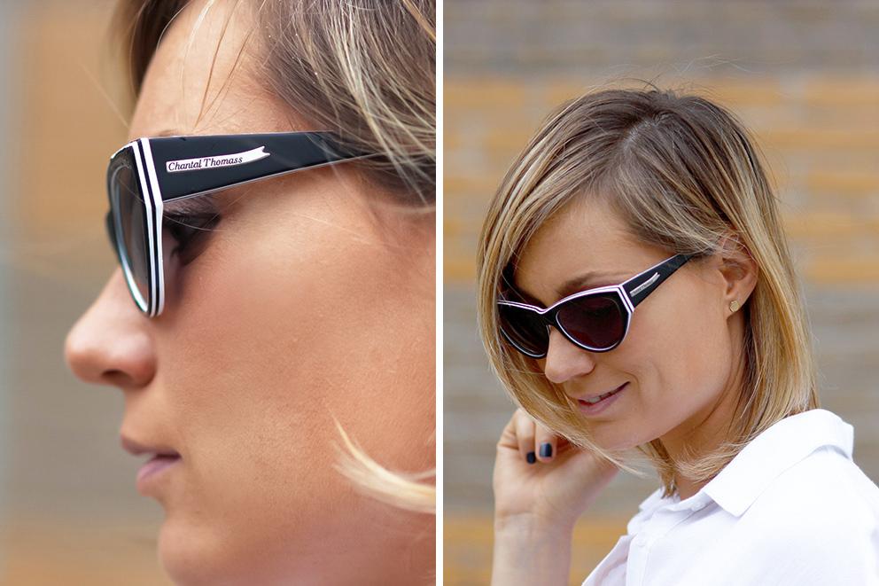 lunettes de soleil Chantal Thomass blog mode lyon Artlex