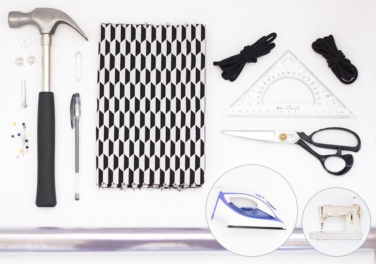 matériel sac de gym blog DIY Artlex