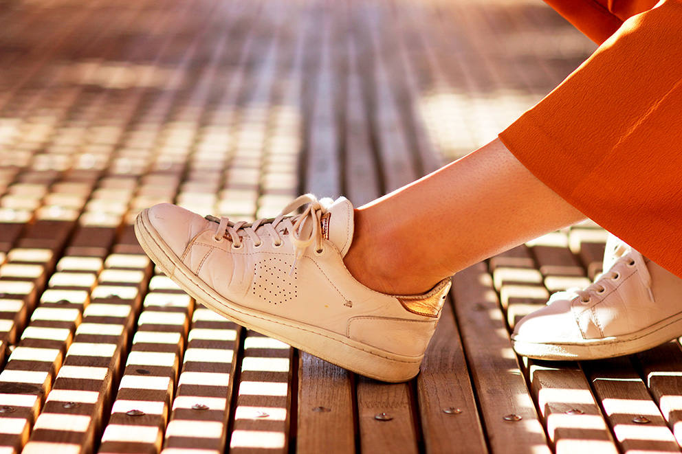 sneakers blanches blog mode lyon Artlex