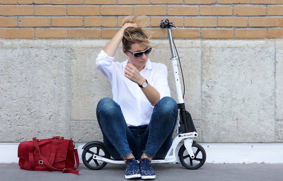 street style trottinette blog mode lyon Artlex