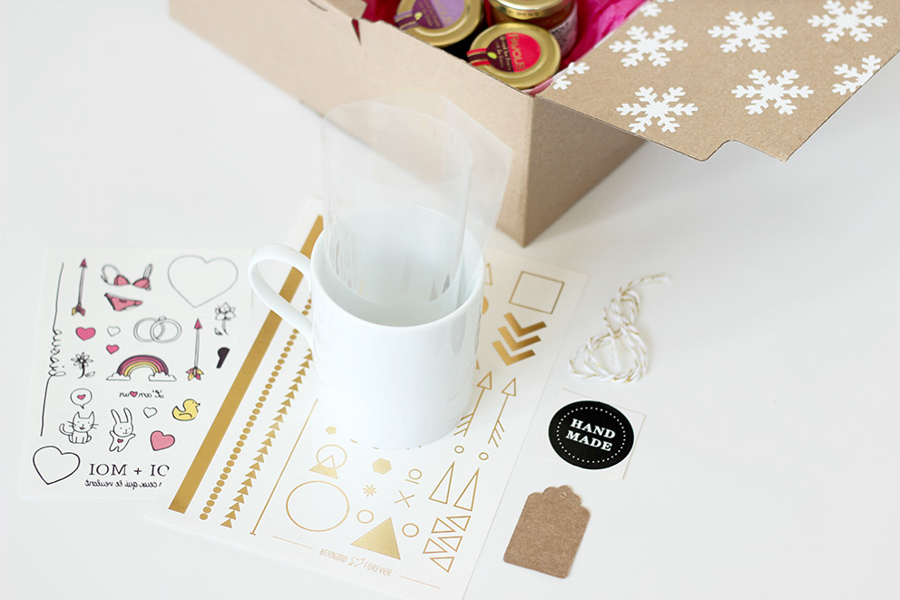 DIY mug cadeau noel
