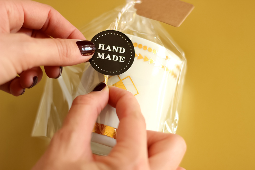 faire un joli paquet cadeau blog DIY Artlex