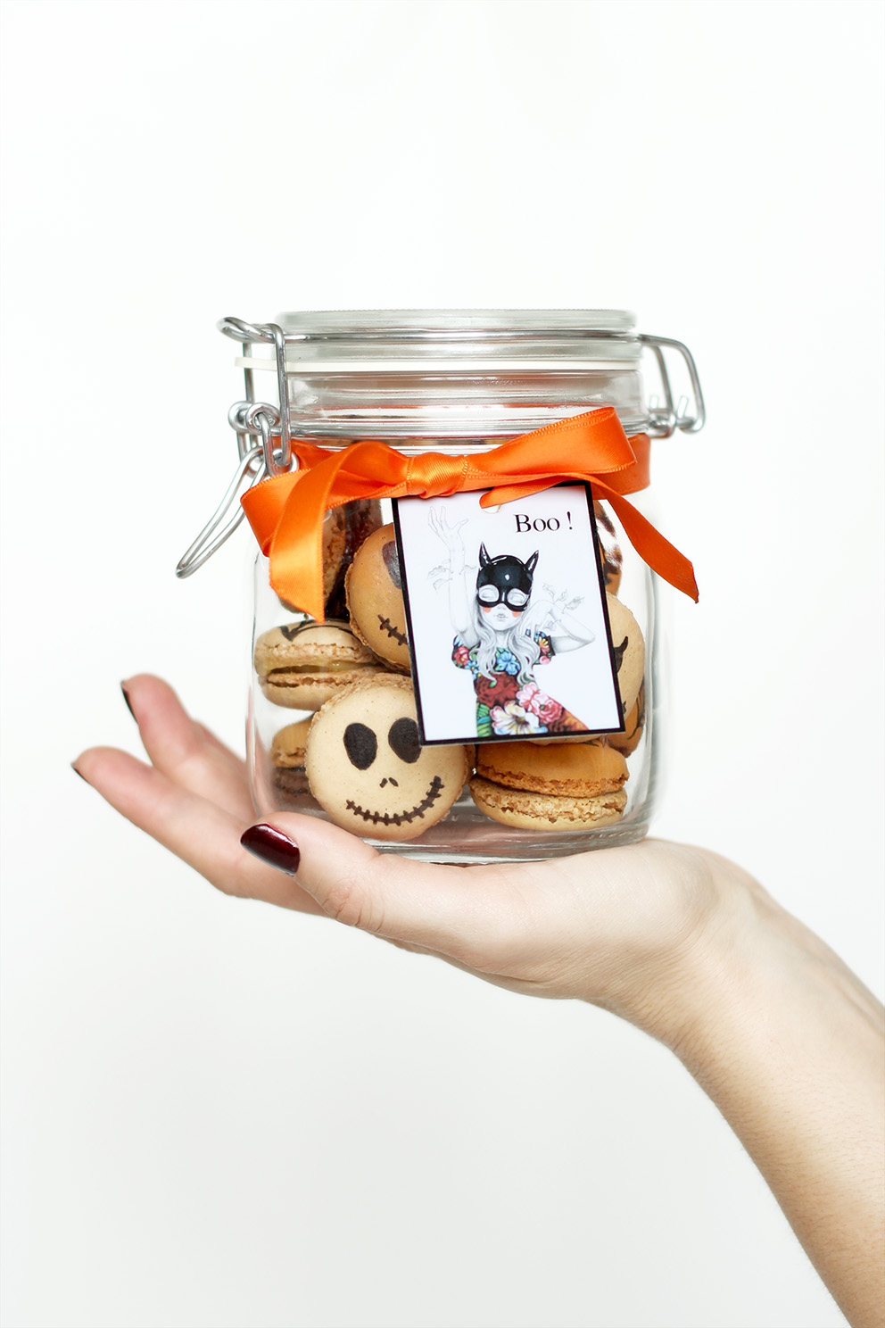 halloween Jar DIY Artlex