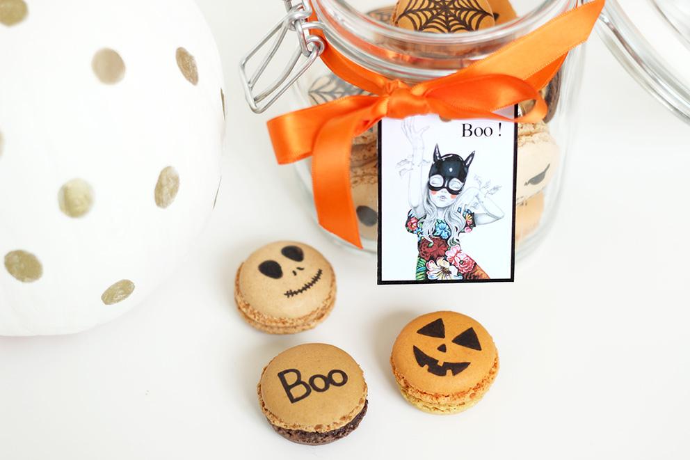 halloween macaron DIY blog Artlex