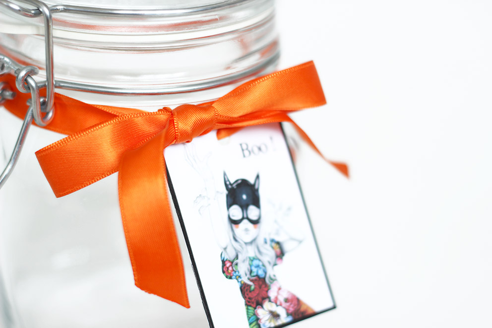 idée bocal halloween blog DIY Artlex