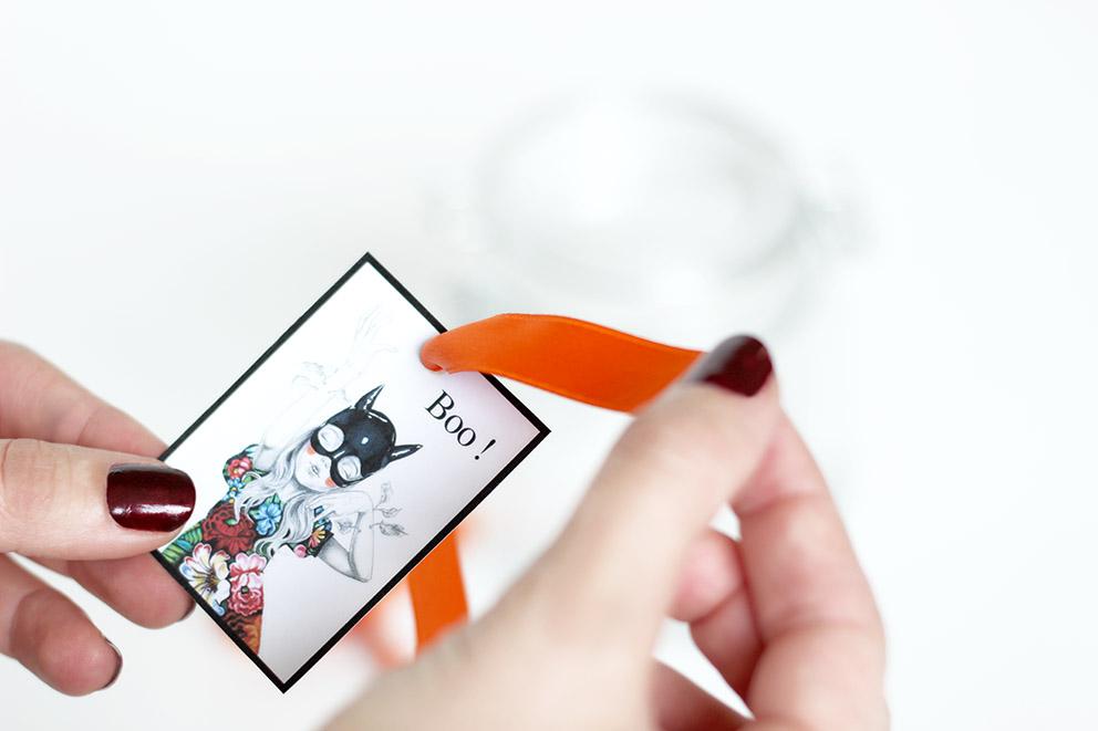 étiquette gratuite halloween DIY Artlex