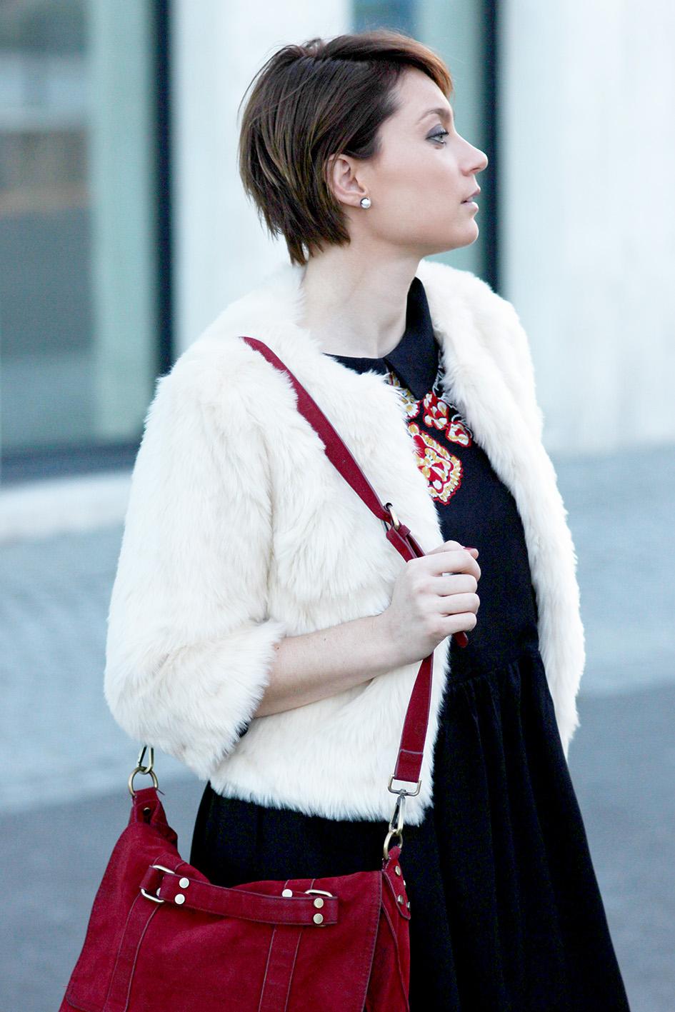 joli manteau fourrure blog mode lyon Artlex