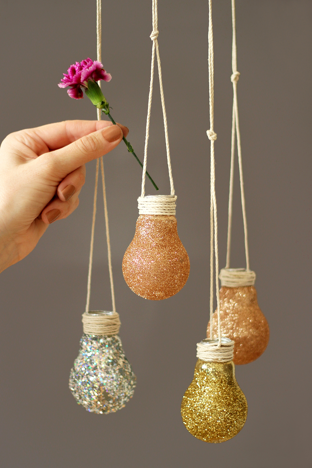 Diy ampoule vase blog mode lyon diy artlex - Diy decoration maison ...