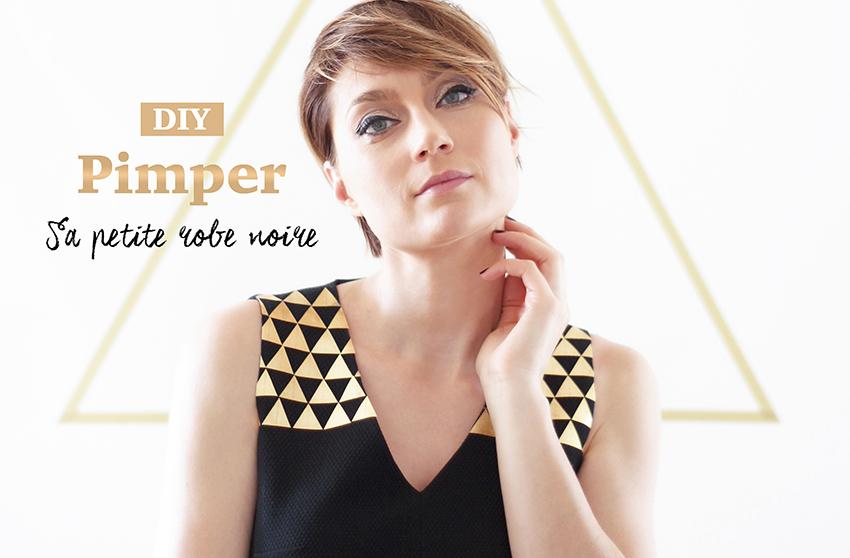 DIY robe noire 1 2 3 Paris