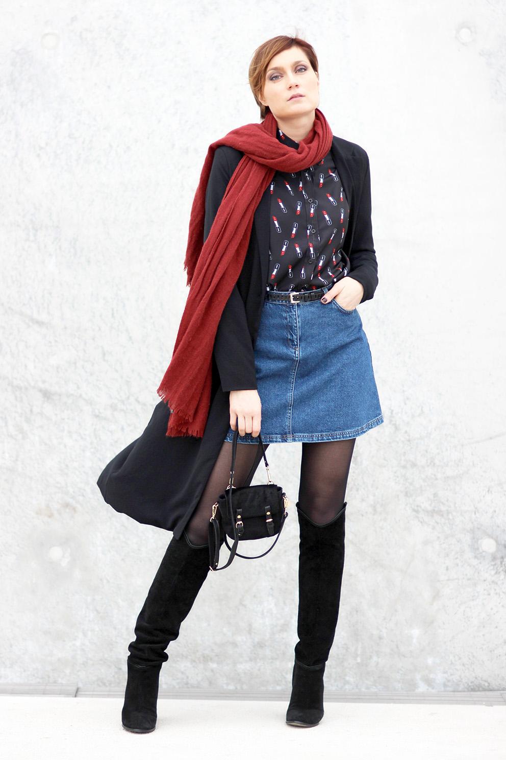 blog mode lyon Artlex look jean