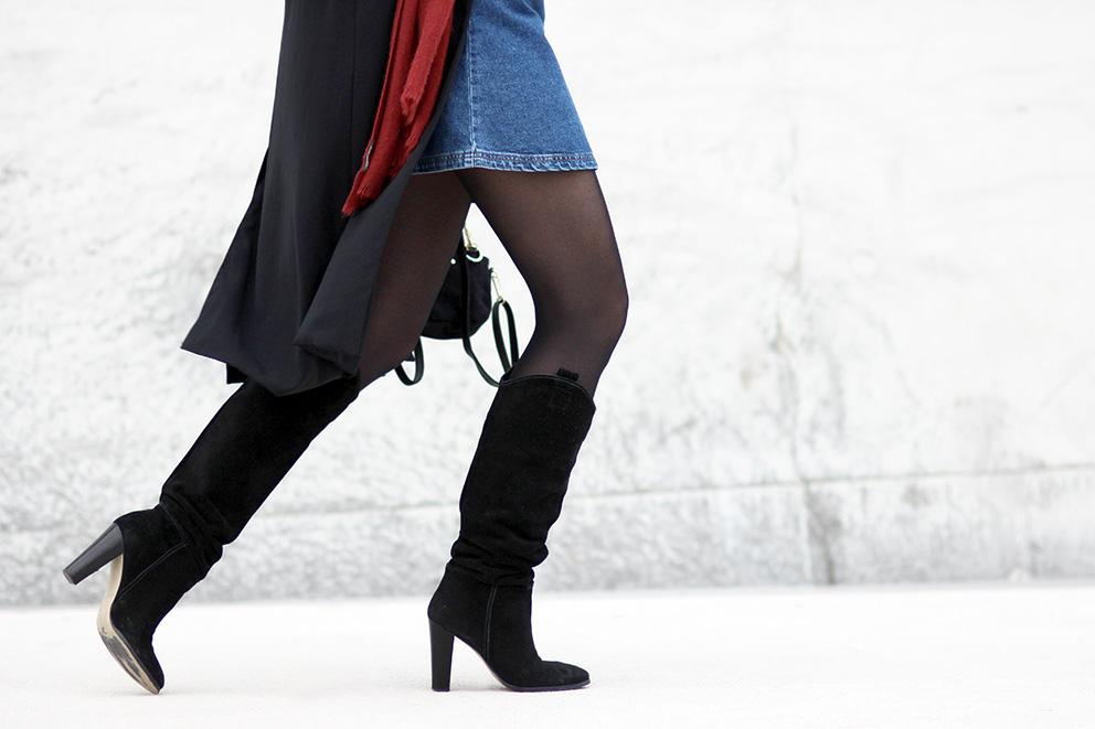 cuissardes noires blog mode lyon Artlex