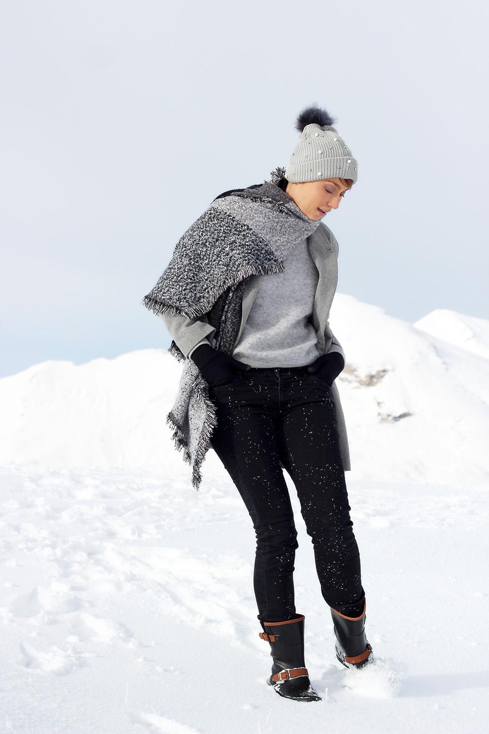 tenue chic au ski blog mode Lyon Artlex