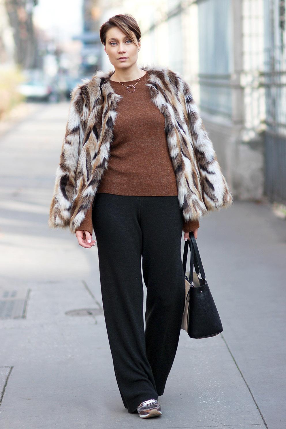look manteau fourrure blog mode lyon Artlex
