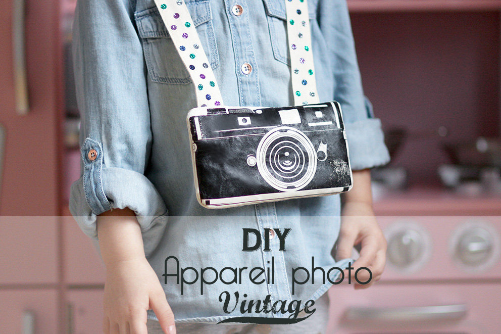 DIY appareil photo vintage 2