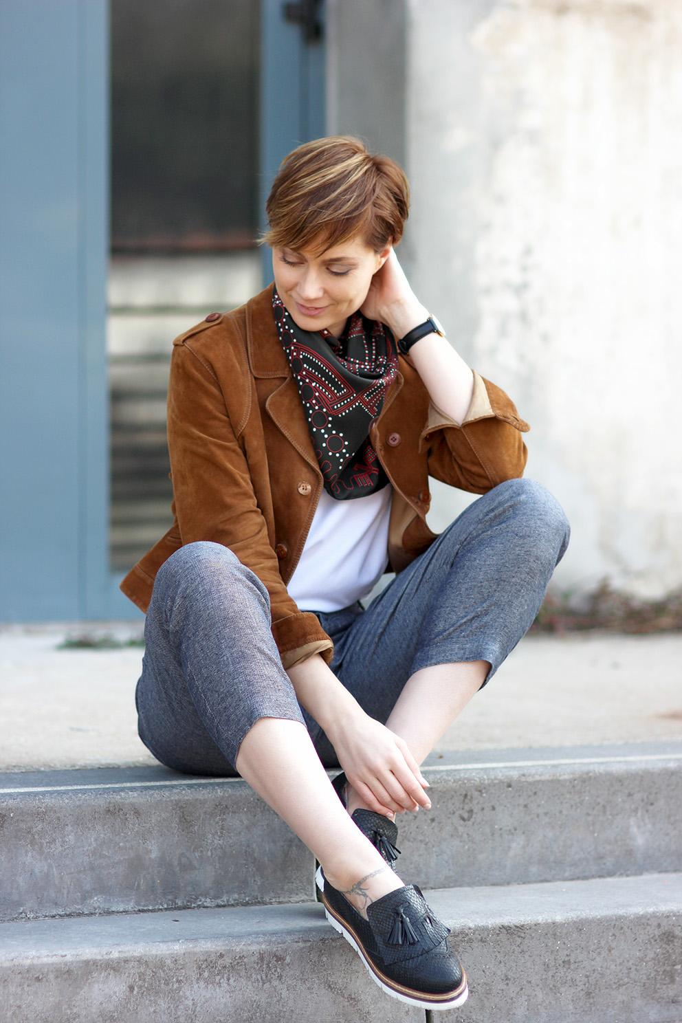 look pantalon court Artlex blog mode