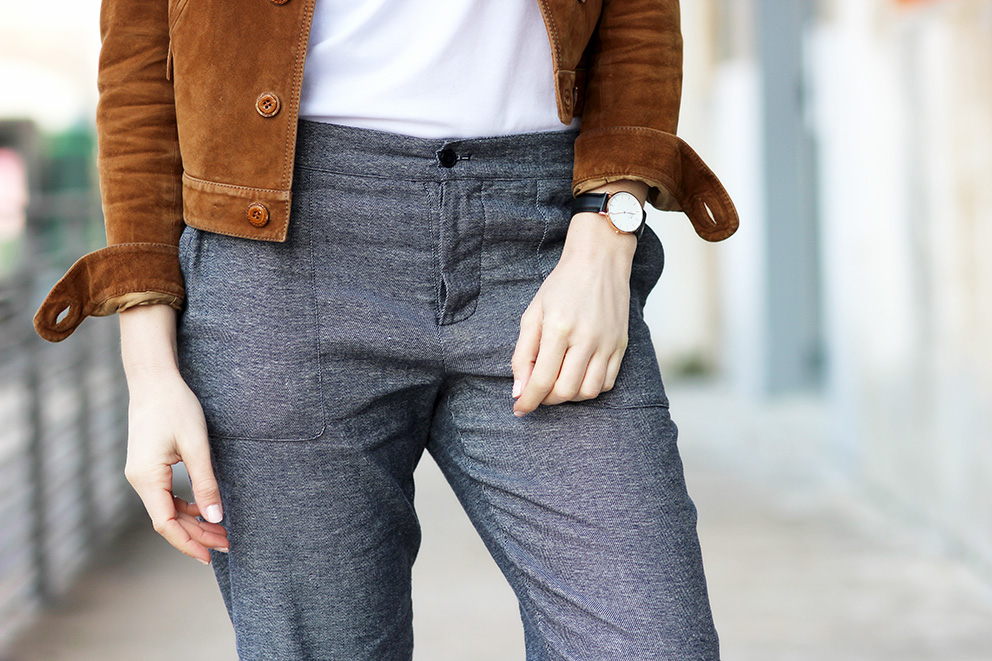 pantalon chemincs blancs artlex