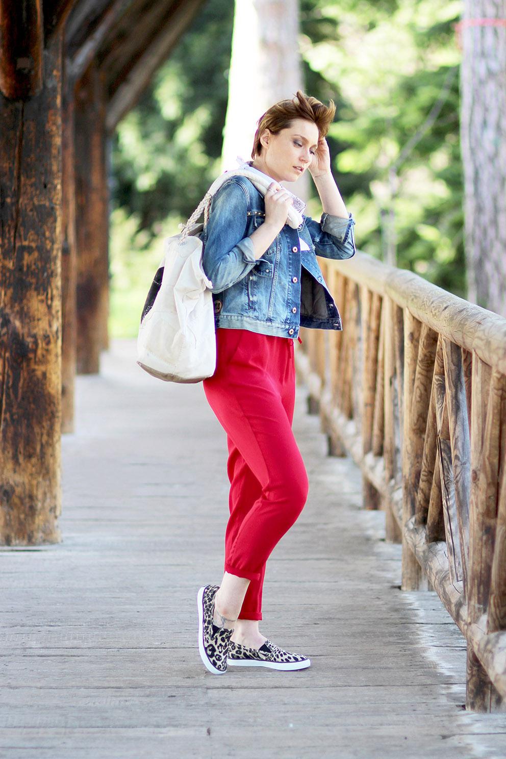 artlex blogueuse mode look rouge