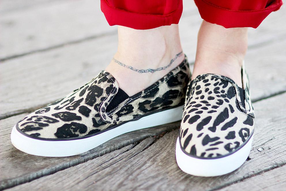 chaussures sperry leopard Artlex